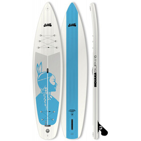 Indiana SUP Touring 11'6 Inflatable Sup Ladies Pack Basic with 3 Pieces Fibre/Plastic Paddle